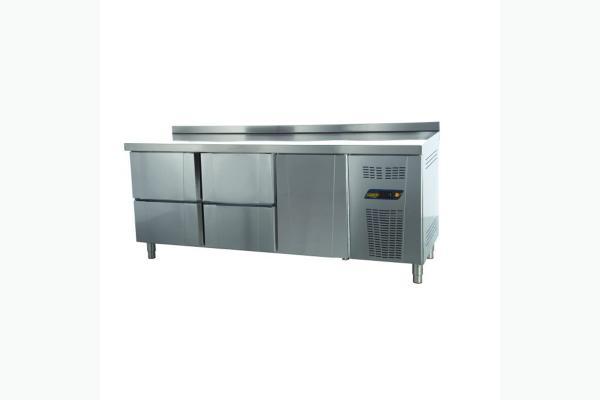 TPS-63-2D Tezgah Tip Snack Buzdolabı - 2 Çekmeceli + 2 Kapılı