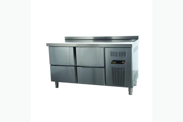 TPS-63-4D Tezgah Tip Snack Buzdolabı - 4 Çekmeceli + 1 Kapılı