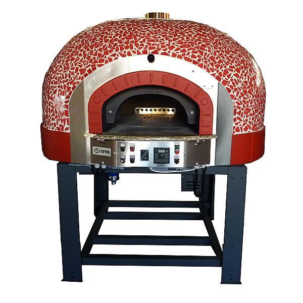 MIX120 R Gazlı - Odunlu Döner Tabanlı Pizza Fırını